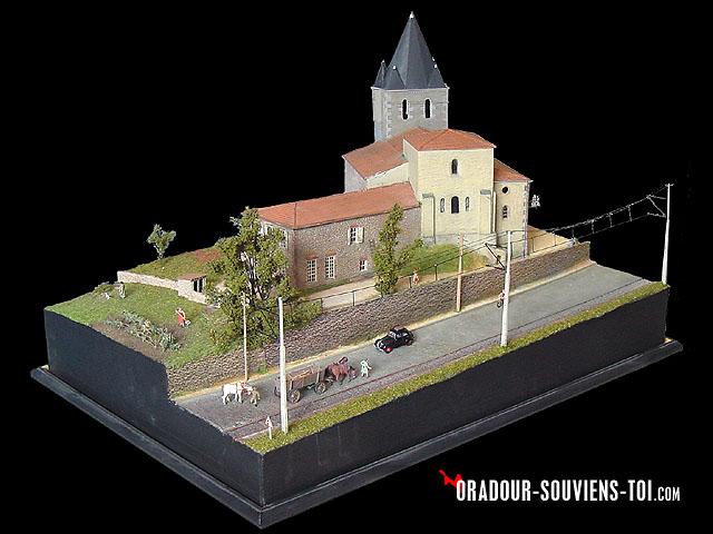 Souvent ORADOUR-SOUVIENS-TOI.COM - Reconstitution - diorama, maquette de l  AQ36